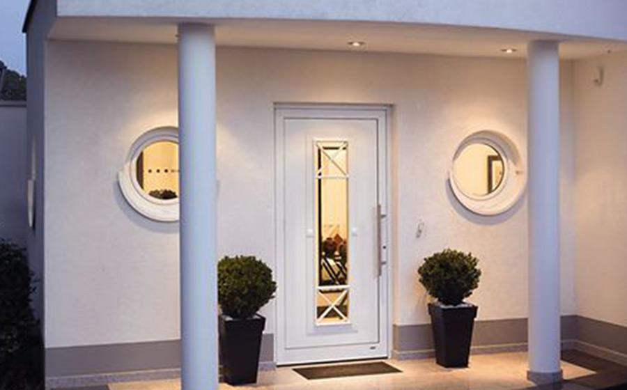 Portas de PVC para exterior e interior
