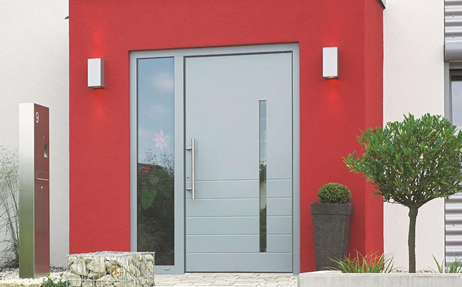Características das portas em PVC